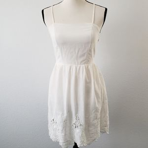 Monteau Cotton Tatted Lace Summer Dress